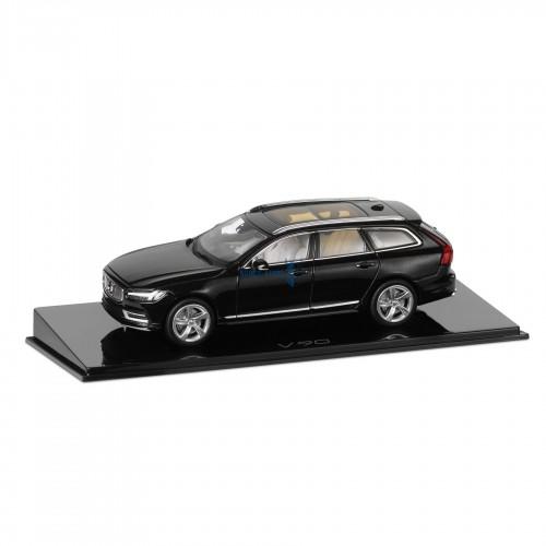 Volvo gyári modellautók,Volvo 30673640 modellautó Volvo V90 Onyx Black