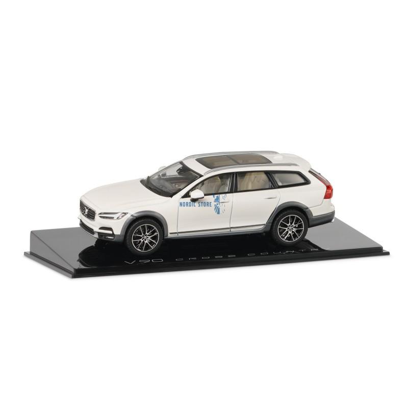 Volvo gyári kiegészítők, Volvo 30673691 modellautó Volvo V90CC White