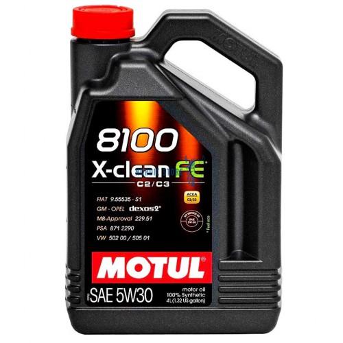 Volvo motorolaj, MOTUL 8100 X-CLEAN FE 5W-30 4L motorolaj