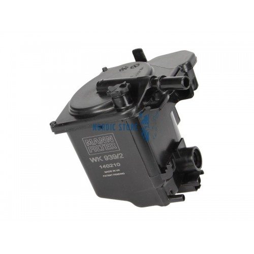 Volvo alkatrészek, MANN WK939/2 üzemanyagszűrő D4164T