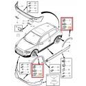 Volvo gyári alkatrészek, Volvo 30698669 C30 sárvédőív patent