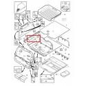 Volvo gyári alkatrészek, Volvo 30721320 csomagtér padló teleszkóp
