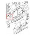 Volvo gyári alkatrészek, Volvo S80 8663892 sárvédővég