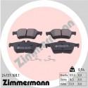 Volvo alkatrészek, Zimmermann 24137.168.1 hátsó fékbetét